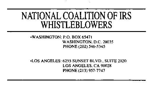 File:National Coalition of IRS Whistleblowers (OCR).pdf